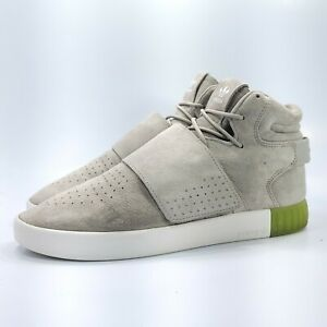 Adidas Tubular Invader Strap Athletic Shoe Mens Size 11.5 BB5040 Gray Green