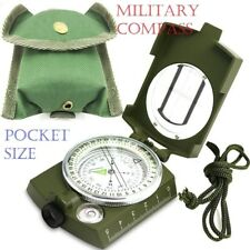 Pocket Compass Professional Military Army Geology Camouflage Color multifunction