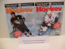 Mario Lemieux Beckett Hockey Monthly Magazine Team Canada 2002 BRAND NEW 2 Sided