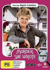 Murder, She Wrote: Season 3 NEW R4 DVD