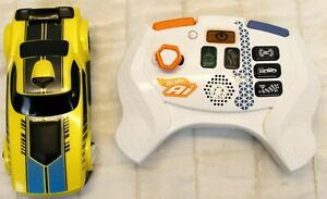 Hot Wheels AI Intelligent Race System Yellow Remote Control Car w Remote Replace