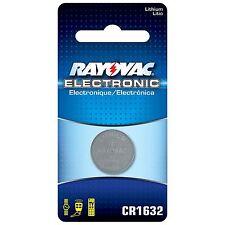 CR1632 Rayovac General Purpose Battery - KECR1632 - Lithium - 3 V Dc - 1