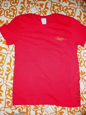 BURTON FEATHER NOVEMBER Red Short Sleeve T-Shirt *NEW* Size Large Skate/Surf