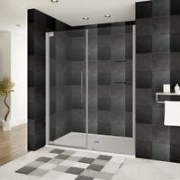 44 48 Quot Wx76 Quot H Semi Frameless Sliding Shower Door Ultra B