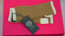 Vince Camuto Armwarmers Brown Wool Women's Gloves Camel One Size