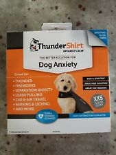 Thundershirt Dog XXS <7 bs Solid Gray Best Solution for Anxiety