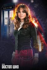Doctor Who - Clara Oswald POSTER 61x91cm NEW * Jenna Coleman dr companion Tardis