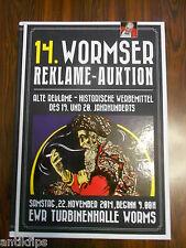 Auktionskatalog 14. Wormser Reklame - Auktion 22.11.2014