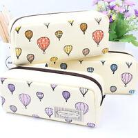 Cute Pencil Case Pen Box Storage Bag Pouch Brush Holder Cosmetics Makeup Bag