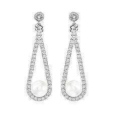 Authentic Swarovski Enlace Pierced Earrings
