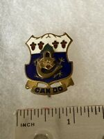 Authentic US Army 15th Infantry Regiment Unit DI DUI Crest Insignia NH