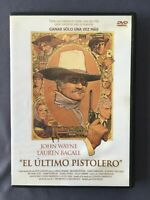 DVD EL ULTIMO PISTOLERO John Wayne Lauren Bacall Ron Howard James Stewart SIEGEL