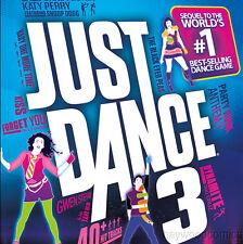 Nintendo Wii Game JUST DANCE 3