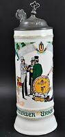 Dortmunder Union Brauerei krug 1984 Jahreskrug Sammelkrug Bierkrug Krug 1CB1