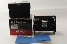 In BOX  Mamiya 645 120 Film Back Holder Insert M645/1000/Pro/TL from JAPAN #1672