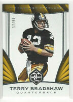 2016 Panini Limited Football #93 Terry Bradshaw #d 17/99 Pittsburgh Steelers