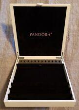 "PANDORA "" LEATHER JEWELRY ORGANIZER BOX"" RARE & AUTHENTIC!!!!!!!!!!!!!!!!!!!!!!!"