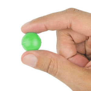 Mini Ping Pong Table Tennis Ball 100 Pack Bright Green 19mm 3/4 Inch Arts Crafts