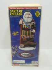 Accents Unlimited Wee Crafts Santas of the World - Santa of England *NIB/Opened*