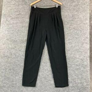 Forever New Womens Pants Size 14 Black Straight Leg Pockets Zip 295.08