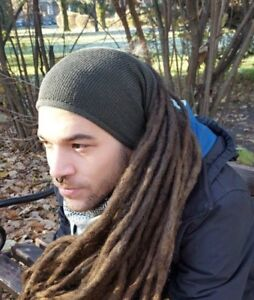 Mens Headband Dreadlock Accessories Head Scarf Dreadlock Tube Sock Hairband Men