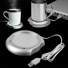 USB Insulation Coaster Heater Heat Insulation Coffee Cup Mug Mat Pad Coaster TG