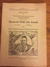 Roosevelt Wildlife Bulletin, Howard Dean, Adirondacks, December 1935 Vol 8 No 2