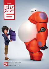 "047 Big Hero 6 - 2014 American Hot Movie Film 14""x20"" Poster"