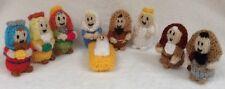 KNITTING PATTERN Nativity Christmas tree decorations / ornaments / 7cms figures