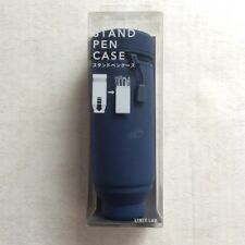 LIHIT LAB Japan Pen Pencil Smart Fit Stand Case 172mm Navy A7692-11 from JAPAN