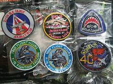 F16 F5 L39 PC9 Royal THAI AIR FORCE PATCH RTAF Original 6 Patches Lot022
