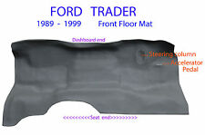 To suit Ford Trader WG 1989 - 1999 Truck Rubber Vinyl Front Floor Mat