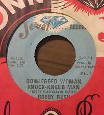 BOBBY RUSH Bowlegged Woman Knock-Kneed Man 45 Jewel Mississippi Funk hear