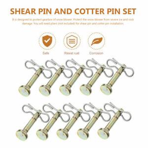 1 Set Replacement Shear Cotter Pins Cotter Snow Blower Snowblower Accessory Part