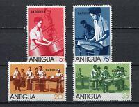 27551) Barbuda 1974 MNH New Musical Instruments 4v