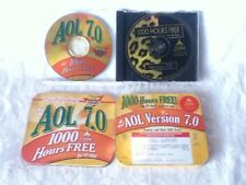 VINTAGE Tech AOL eMail PROMO Software Version 7.0 CD Tin Box Leopard 1000 Hours