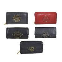 NWT Authentic Tory Burch Amanda Zip Continental Wallet