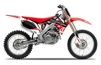 2009 2010 2011 2012 HONDA CRF 450R GRAPHICS KIT CRF450R MOTOCROSS DECALS