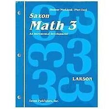 Math education textbooks ebay math 3 an incremental development set by nancy larson 1991 paperback student fandeluxe Image collections
