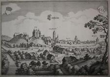 c1645 Leipheim Kupferstich-Gesamtansicht Merian