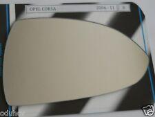 Convesso Vetro Specchietto Laterale Destro per Opel Opel Corsa D 2006-2011