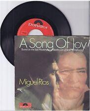 "Miguel Rios, A song of joy, G-/VG  7"" Single 999-404"
