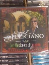 JOSE FELICIANO / Con Mexico en el Corazon - RARE OOP - NEW Sealed 2008 CD