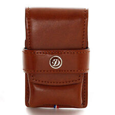 ST Dupont Leather Lighter Case for Line 2 and Gatsby #180124(Brown)- New