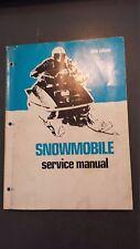 Snowmobile Service Manual 1971 Arctic Cat John Deere Polaris Ski-Doo Yamaha