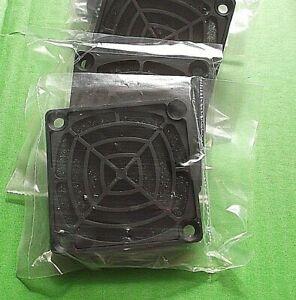 Fan Filter 60mm Dust Guard 60 mm Black PC Case Mesh 3parts Kit FK60-D1 x 2 sets