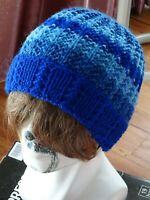Hand Knitted Beanie Warm Winter Mens Hat Australia Made
