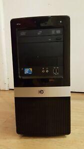 Retro Gaming PC intel Core2 Quad 2.66GHz RAM 6GB HDD 320GB 1G_GT_610 Win10 COA