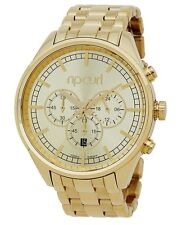 NEW WOMEN RIP CURL BAILEY A2758G GOLD CHRONO SSS WRIST WATCH ANALOG DISPLAY