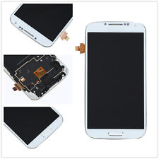 Touch Screen Glass Digitizer Front LCD Display frame For Samsung Galaxy S4 I9505